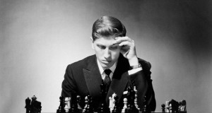 Chess Champion Bobby Fischer